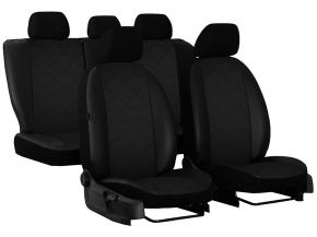 Housse de siège de voiture sur mesure Cuir - Imprimé AUDI A4 B8 (2007-2015)