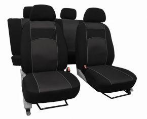 Housse de siège de voiture sur mesure Vip FIAT DUCATO IV 2+1 (2014-2017)