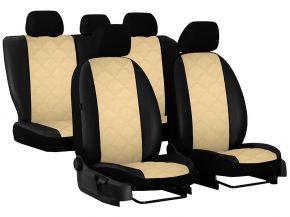 Housse de siège de voiture sur mesure Cuir - Imprimé SKODA KAMIQ (2019-2020)