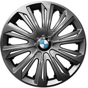 """Puklice pre BMW 14"""", STRONG GRAFITOVÉ LAKOVANÉ 4ks"""