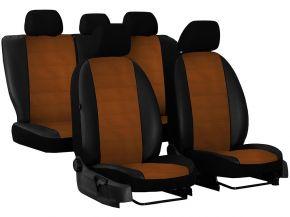 Housse de siège de voiture sur mesure Cuir - Imprimé DACIA LOGAN II (2012-2018)