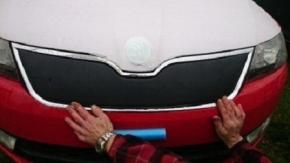 Protecteur d'hiver avant pour RAPID/SPACEBACK 5D inférieur