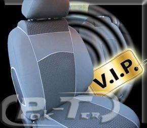 Housse de siège de voiture sur mesure Vip FORD TRANSIT (2000-2014)