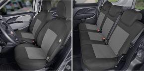 Copri sedili su misura Tailor Made pre FIAT DOBLO IV 5p. (2015→)