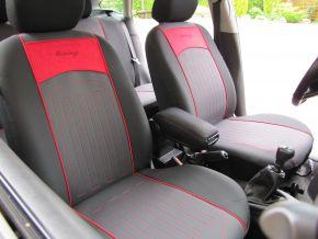Housse de siège de voiture sur mesure Matelassé FORD TRANSIT (2000-2014)