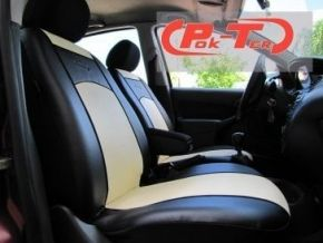 Housse de siège de voiture sur mesure Cuir FIAT DUCATO II 2+1 (1994-2006)