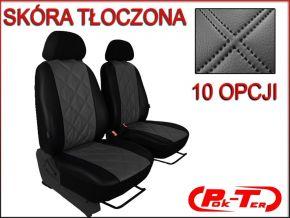 Housse de siège de voiture sur mesure Cuir - Imprimé FIAT DUCATO II 1+1 (1996-2006)