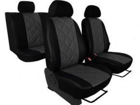 Housse de siège de voiture sur mesure Cuir - Imprimé SKODA OCTAVIA III (2013-2020)