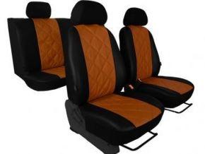 Housse de siège de voiture sur mesure Cuir - Imprimé OPEL VIVARO II 9m (2014-2019)