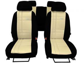 Housse de siège de voiture sur mesure Cuir Stype AUDI Q7 II 7p. (2015-2020)
