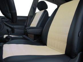 Housse de siège de voiture sur mesure Cuir - Imprimé VOLKSWAGEN GOLF VII SPORTSVAN (2013-2020)