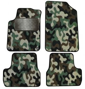 Army car mats Citroen DS3 2009-2015  4ks