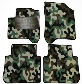 Army car mats Citroen C3 Picasso 2008-up