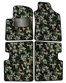 Army car mats Fiat 500 2007-2012 4ks