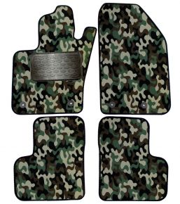 Army car mats Fiat 500X 2014-up /Jeep Renegade