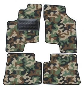 Army car mats Hyundai Getz 2003-up 4ks