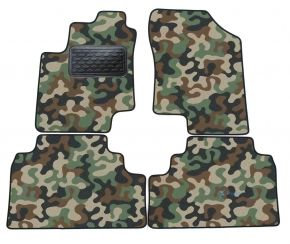 Army car mats Hyundai ix20  2009-up