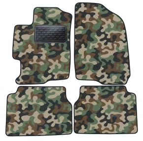 Army car mats Mazda 6  2002-2007 4ks