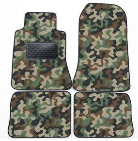 Army car mats Mercedes W 124 1985-1995 4ks