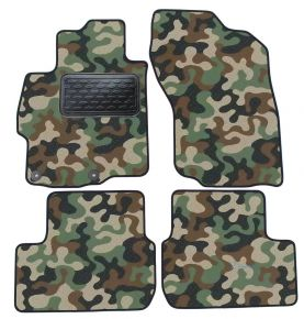 Army car mats Mitsubishi Lancer 2008-up 4ks