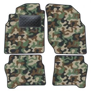 Army car mats Nissan Almera  N16  2000-2006 4ks