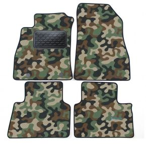 Army car mats Nissan Juke 2010-up 4ks