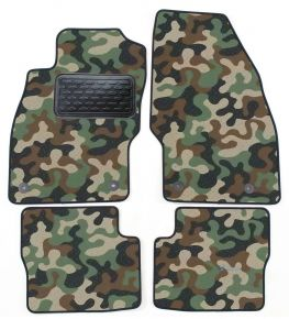 Army car mats Opel Corsa D / E 2006-2014 4ks