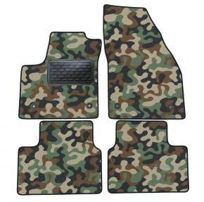 Army car mats Opel Meriva B 2011-up  4ks