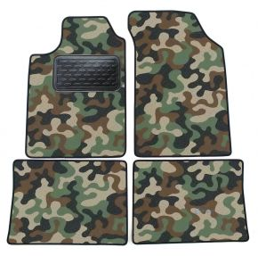 Army car mats Renault Clio II 1998-2005 4ks