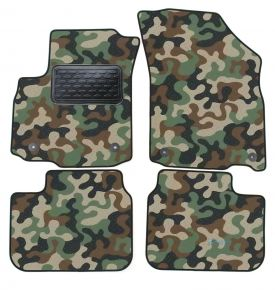 Army car mats Suzuki SX4  2005-2011  4ks