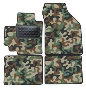 Army car mats Suzuki Celerio 2015-up 4ks