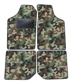 Army car mats Volkswagen Polo  1990-1994 4ks