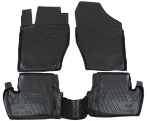 Tapis de voiture CITROEN C4  2011-up  4 pcs