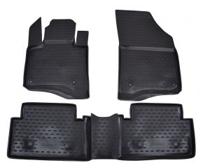Tapis de voiture CITROEN C5 2008-up  4 pcs