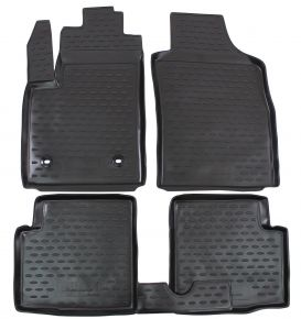 Tapis de voiture FIAT 500 2008-up  4 pcs