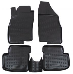 Tapis de voiture FIAT Grande Punto 5D 2005-up  4 pcs