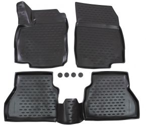 Tapis de voiture FORD B-max  2014-up   hb  4 pcs