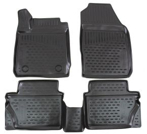 Tapis de voiture FORD Fiesta  2011-2015  2015-up  4 pcs