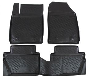 Tapis de voiture FORD Fiesta 2008-2011  4 pcs