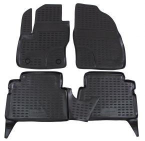 Tapis de voiture FORD Focus C-MAX 2003-2010 4 pcs
