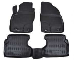 Tapis de voiture FORD Focus II 2004-2010 4 pcs