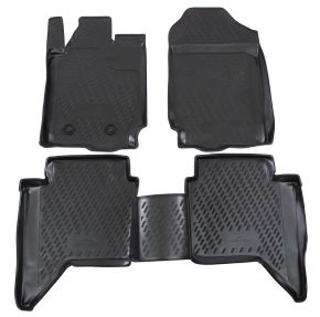 Tapis de voiture FORD FORD Ranger  4 doors  2012-up 4 pcs