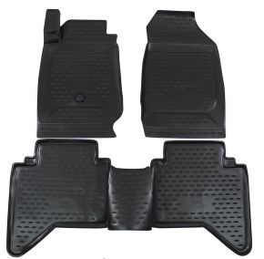 Tapis de voiture ISUZU D-MAX  2012-up   4 pcs