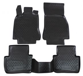 Tapis de voiture JAGUAR XF 2009-up  4 pcs