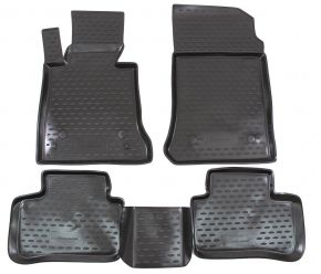 Tapis de voiture MERCEDES GLK-Class X204 2008-up  4 pcs