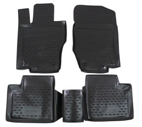 Tapis de voiture MERCEDES M-Class W164 2006-up  4 pcs