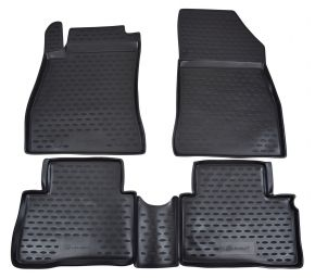 Tapis de voiture NISSAN Juke 2010-2014  2014-up 4 pcs