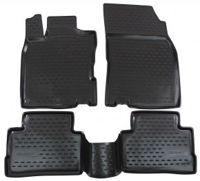 Tapis de voiture NISSAN Qashqai J11  2014-up   4 pcs