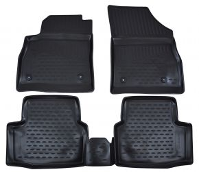 Tapis de voiture OPEL Astra K  2015-up hb 4 pcs