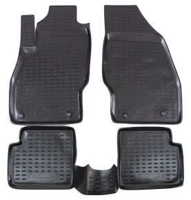 Tapis de voiture OPEL Corsa D/E  2006-up  4 pcs